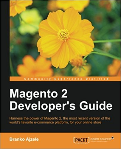 Livre Magento 2 Developer's Guide by Branko